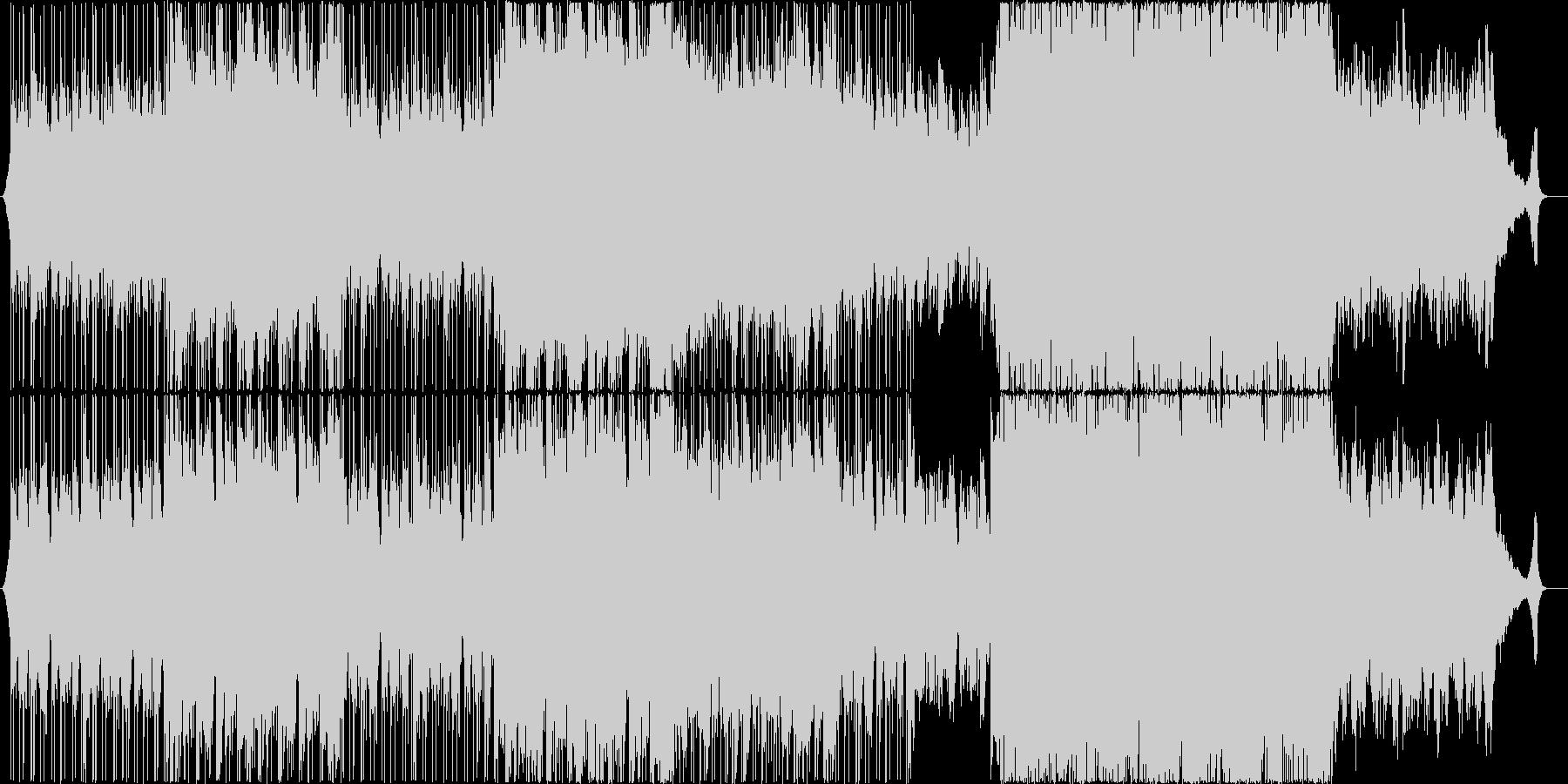 綺麗なアコースティックヒップポップの未再生の波形