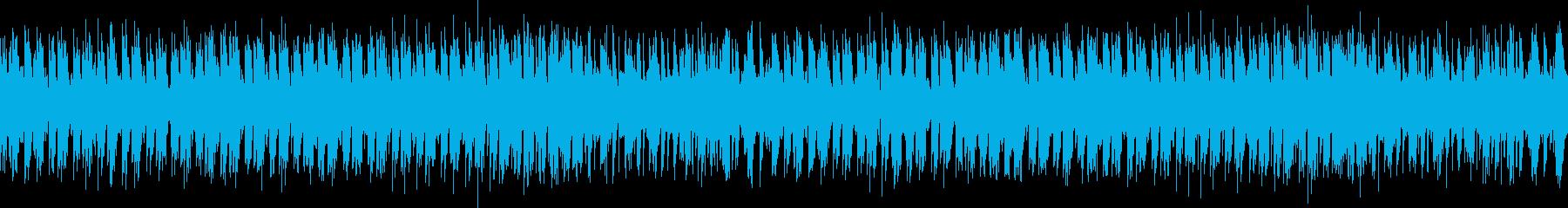 スーファミ系、怪しい雰囲気の洞窟の再生済みの波形