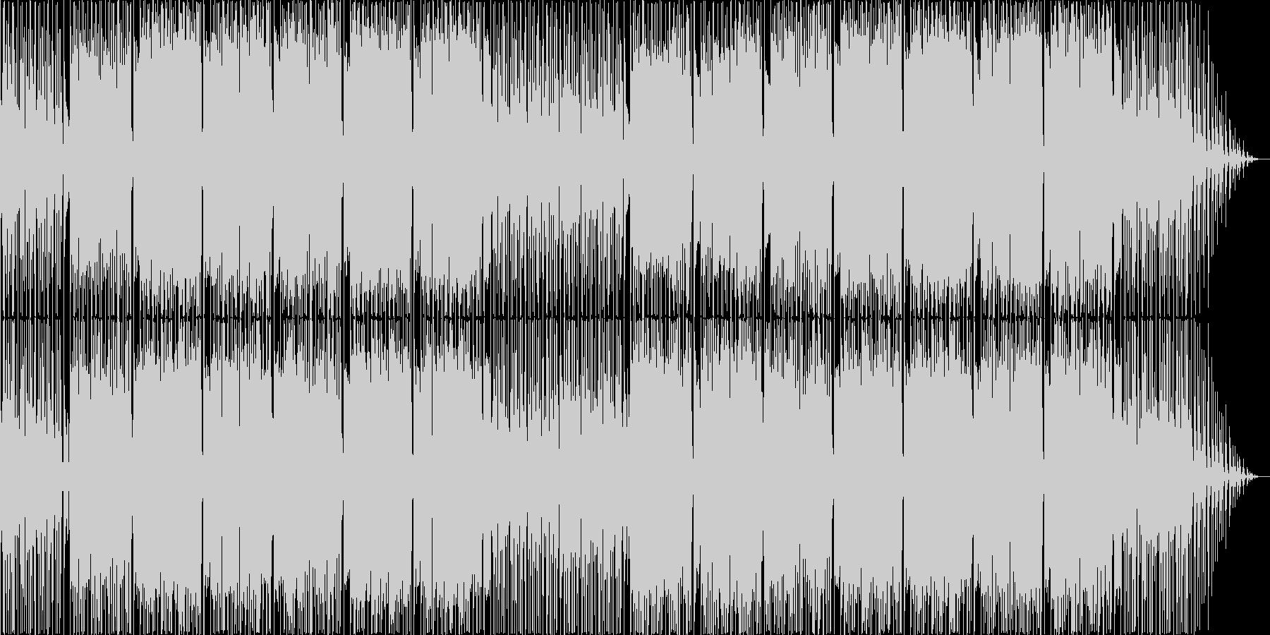 気分ウキウキの楽しいポップなボサノバの未再生の波形