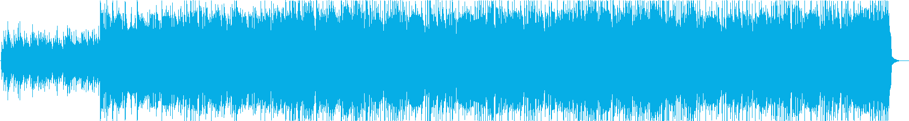 ノスタルジックな民族音楽系BGMの再生済みの波形