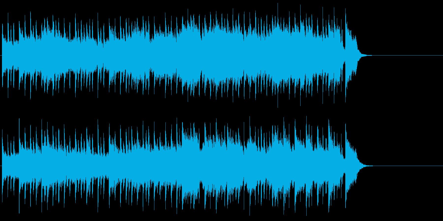 背中に哀愁漂うポップ(Aメロ~サビ)の再生済みの波形