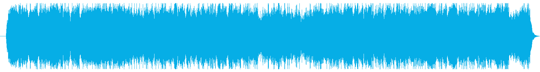 ピアノをメインに悲しいサウンドに仕上げ…の再生済みの波形