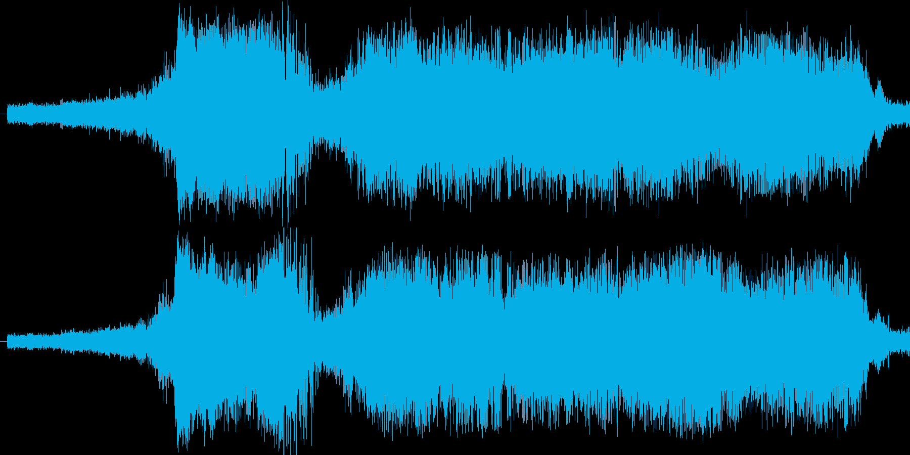 ドイツの都市間輸送列車ICの到着音の再生済みの波形