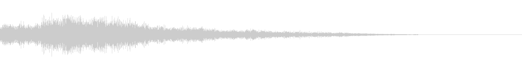 [チャララン]リザルト(落ち着いた感じ)の未再生の波形