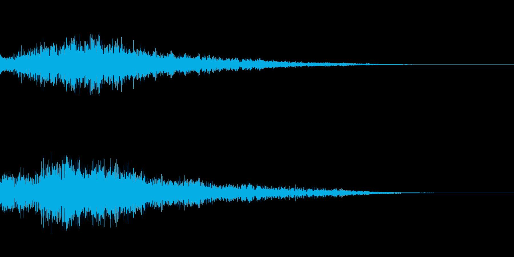 [チャララン]リザルト(落ち着いた感じ)の再生済みの波形
