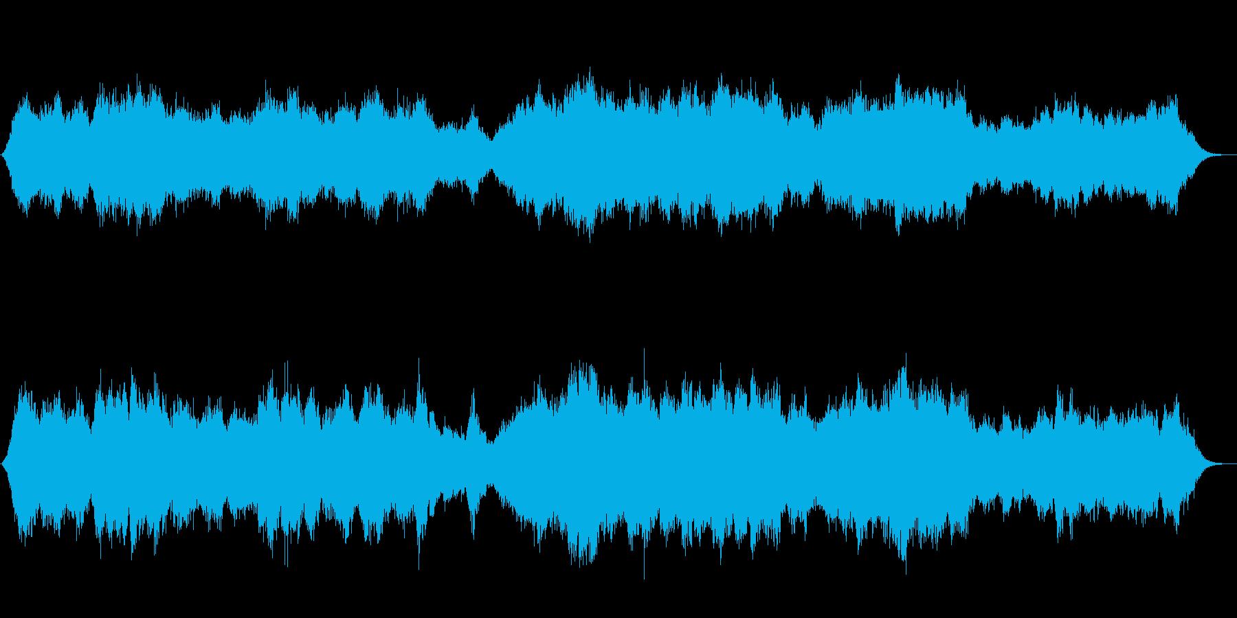 宇宙を感じる神秘的な音色の再生済みの波形