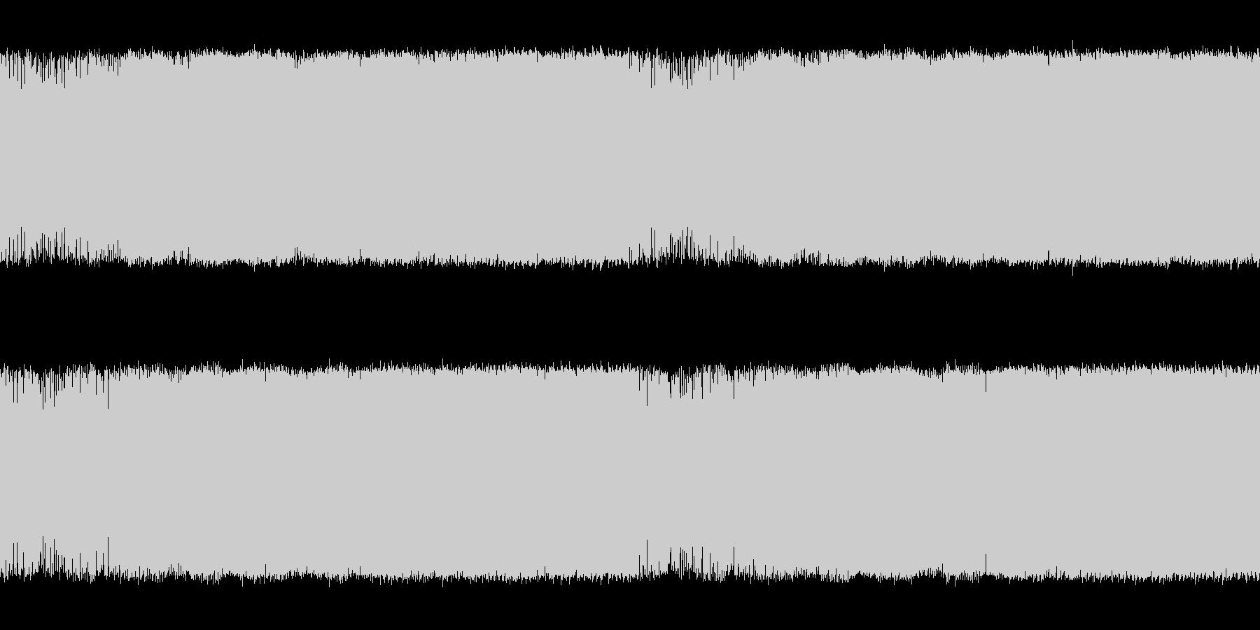 中盤戦を思わせる空気感ある電子系の曲<…の未再生の波形