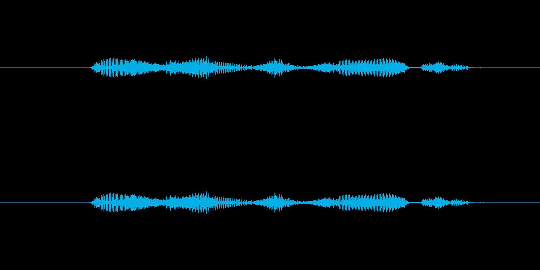 【日】27日の再生済みの波形