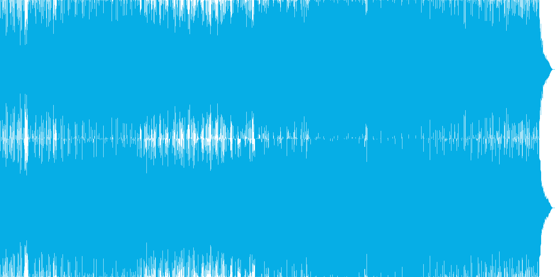 明るく希望感のあるテクノポップサウンドの再生済みの波形