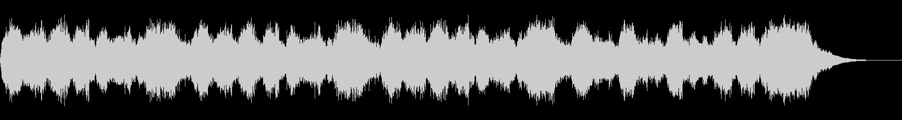 テーマ「撤退」30秒BGMの未再生の波形
