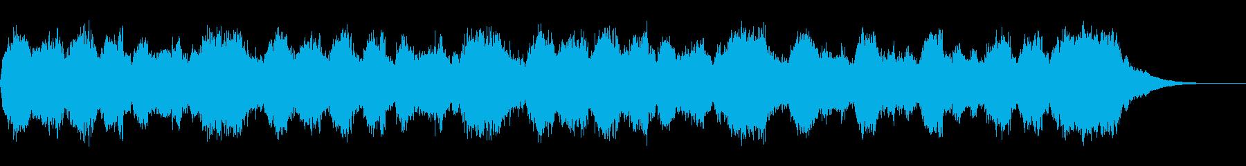 テーマ「撤退」30秒BGMの再生済みの波形