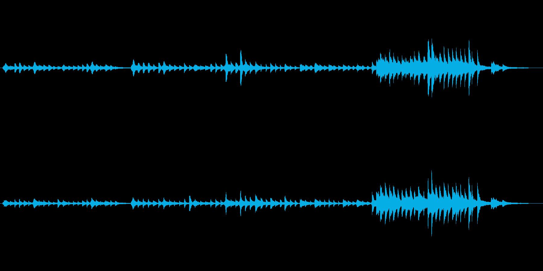 静かで優しい、温かみのあるピアノソロで…の再生済みの波形