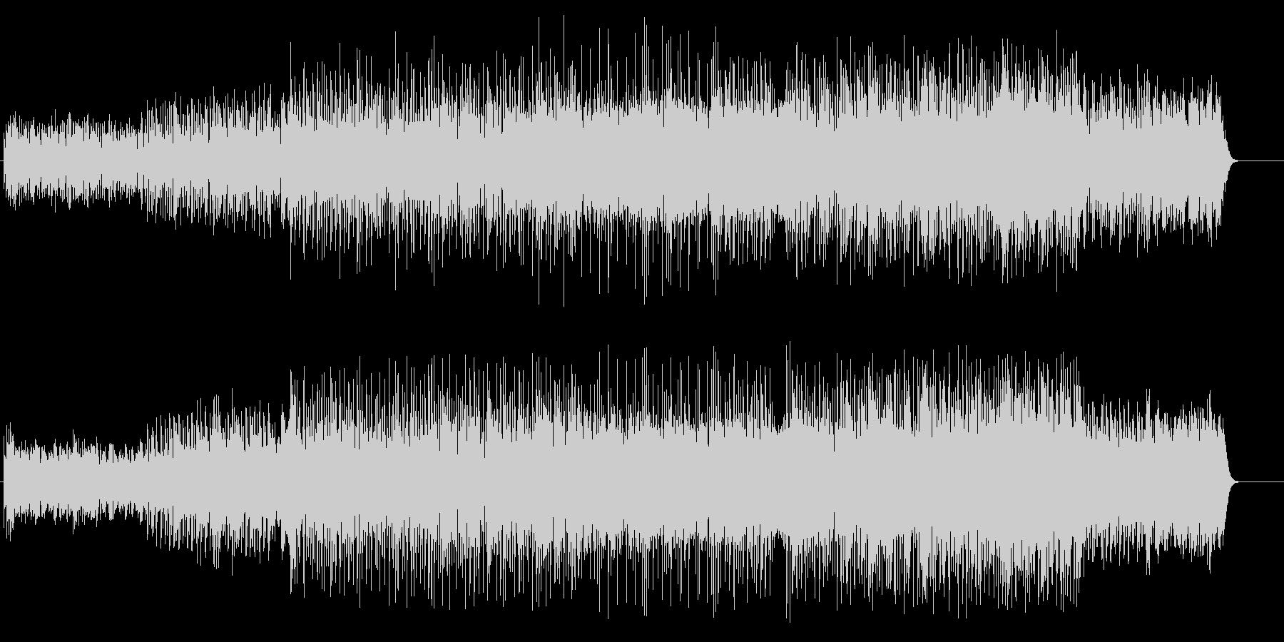 トリップ物、シュールなハウスの未再生の波形