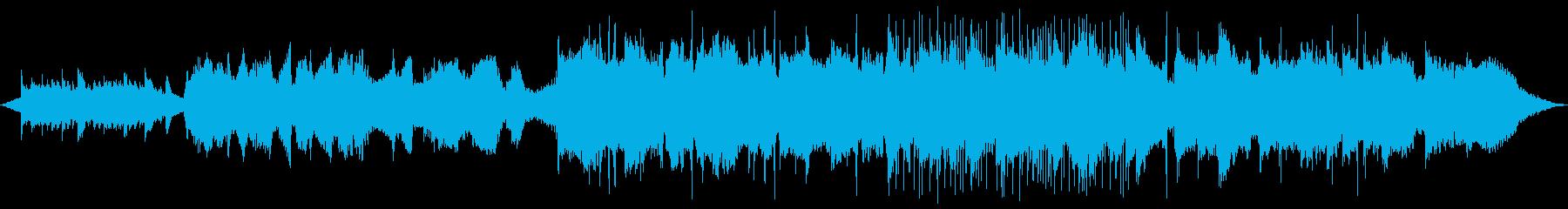 フルート&ギターの安らぎBGMの再生済みの波形