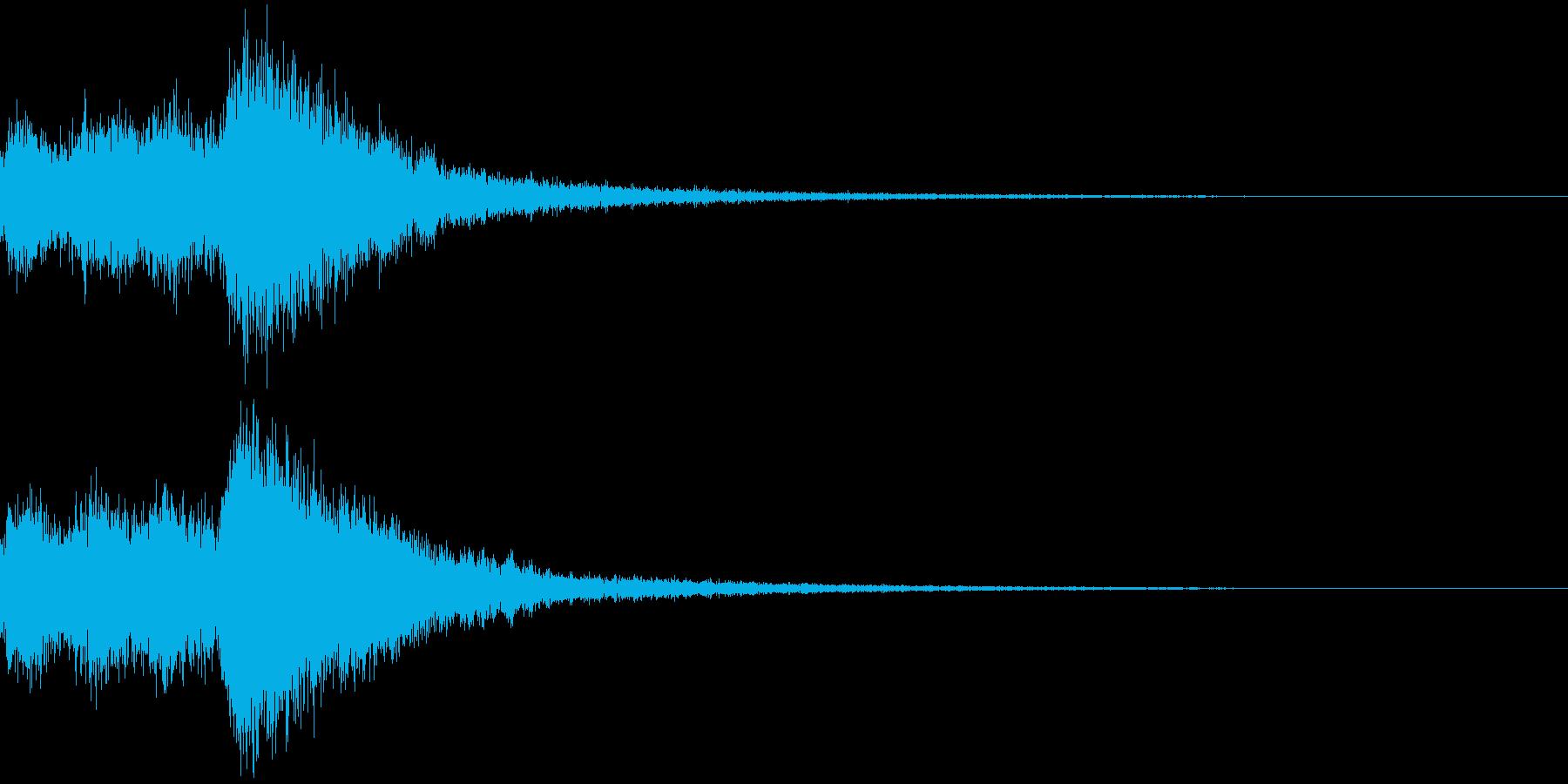 オーケストラヒット ジングル! 03+の再生済みの波形