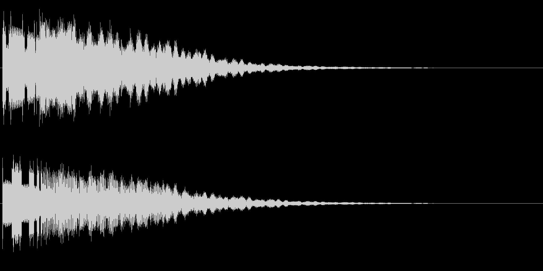 ピーングワァ~(不思議、SF)の未再生の波形
