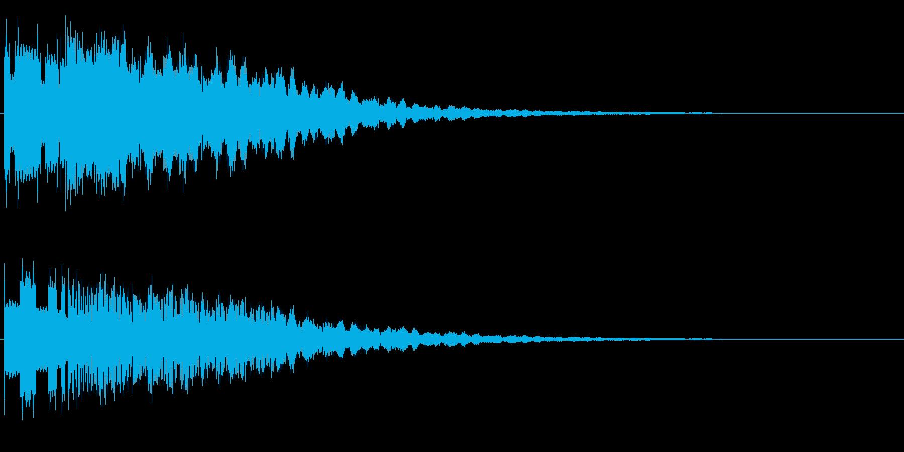 ピーングワァ~(不思議、SF)の再生済みの波形