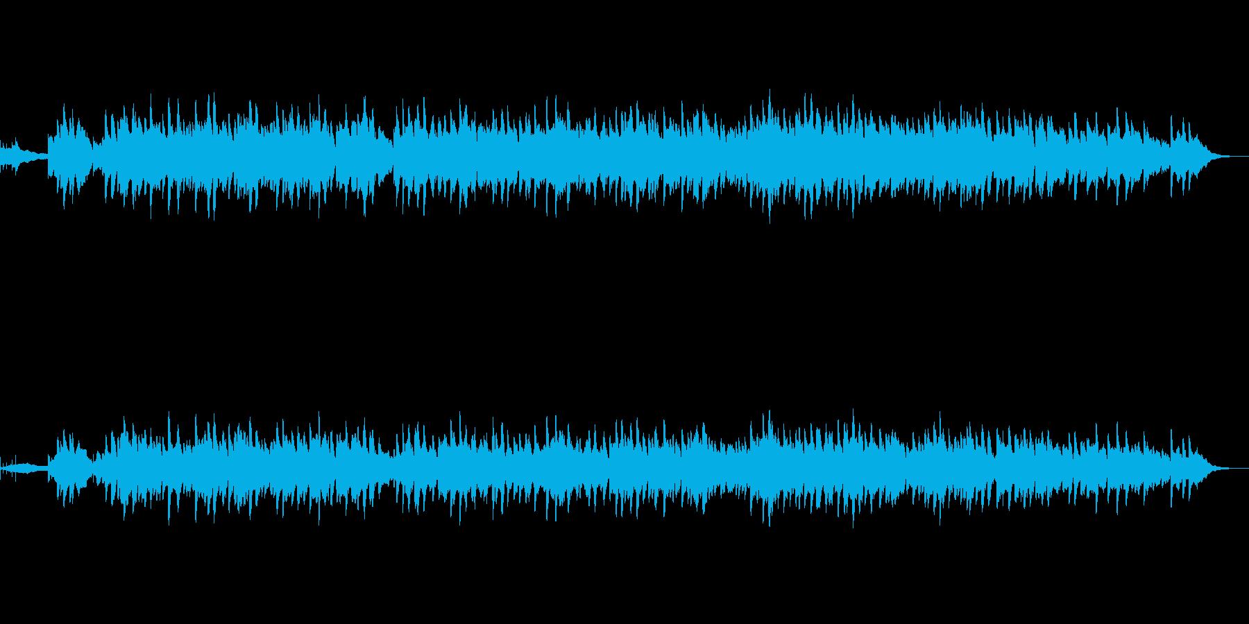 ベルから始まり下の音と絡んでゆく音響を…の再生済みの波形