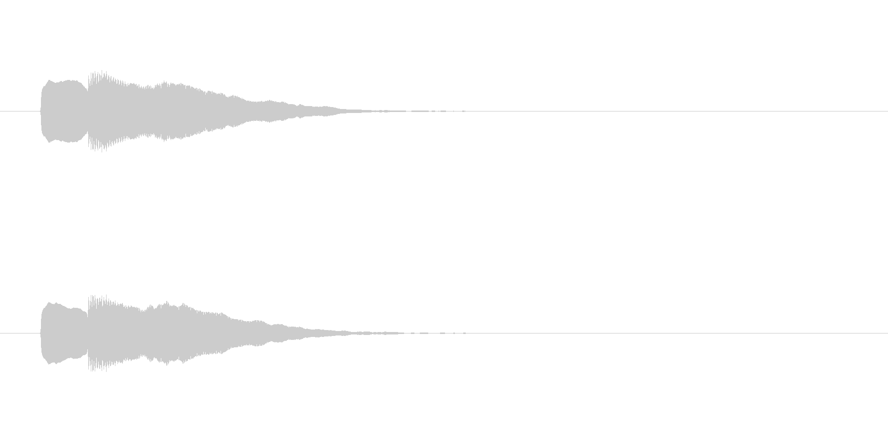 【ショートブリッジ19-3】の未再生の波形