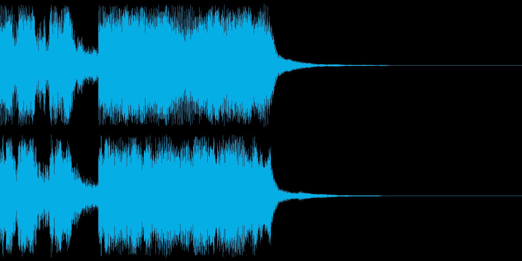 パパッパッパー:ドッキリなんかにどうぞの再生済みの波形