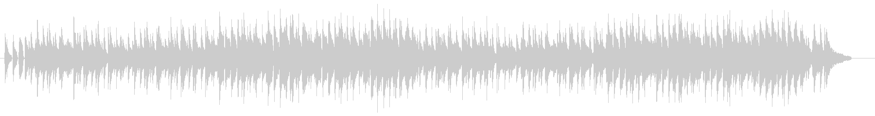素朴でコミカルな、ピアノとウクレレがメ…の未再生の波形