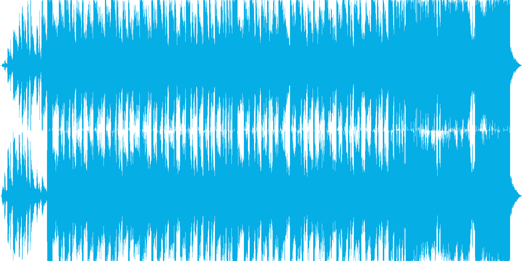 疾走感のある15秒シングルの再生済みの波形