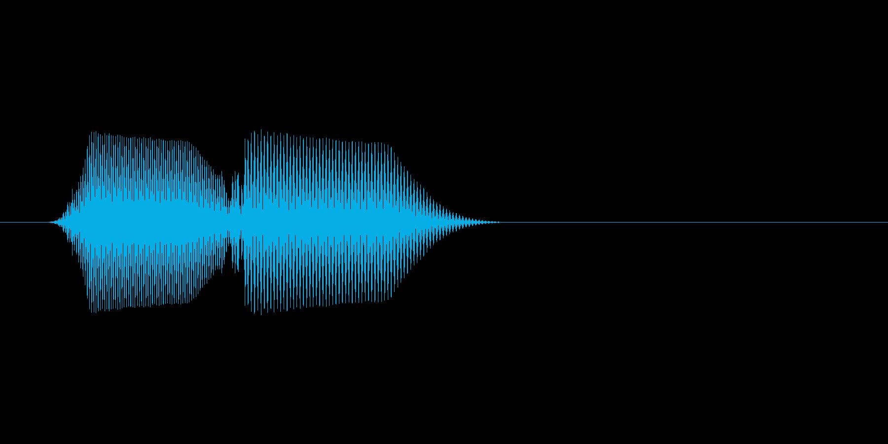 ファミコン風効果音 キャンセル系 19の再生済みの波形