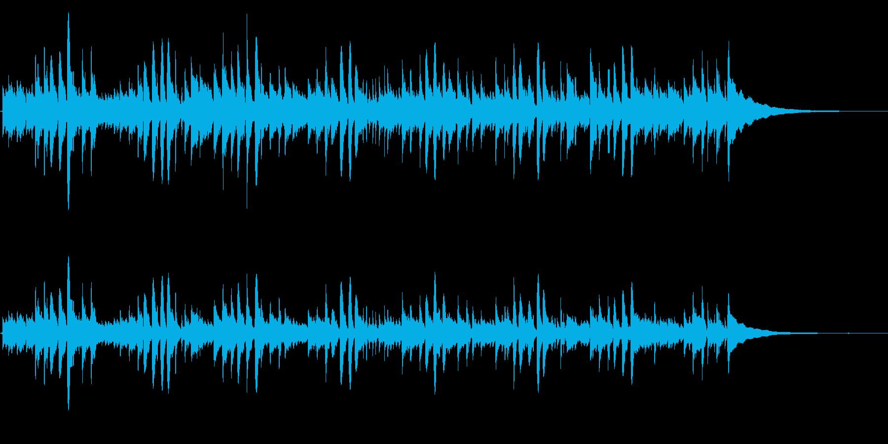 悲しげなアコギRPGのBGMに【生演奏】の再生済みの波形