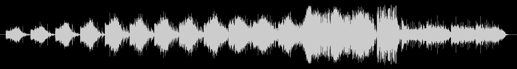 色々な音を組み合わせたリズム形を基調に…の未再生の波形