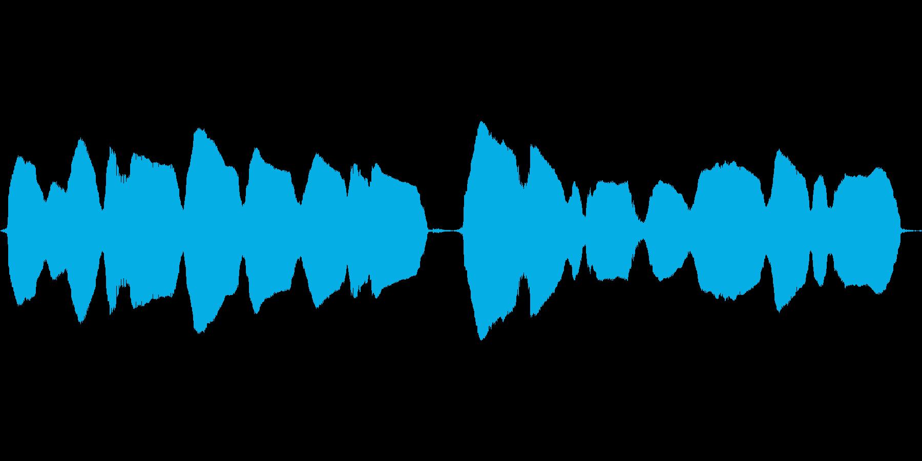 (鼻歌)の再生済みの波形
