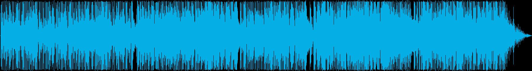 ゆったりとしたファンキーなブルースロックの再生済みの波形