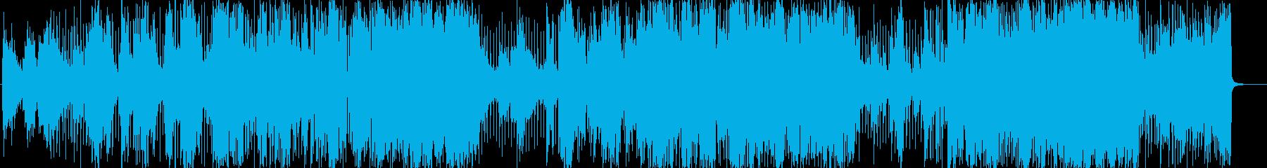 エレキギター/フュージョンの再生済みの波形