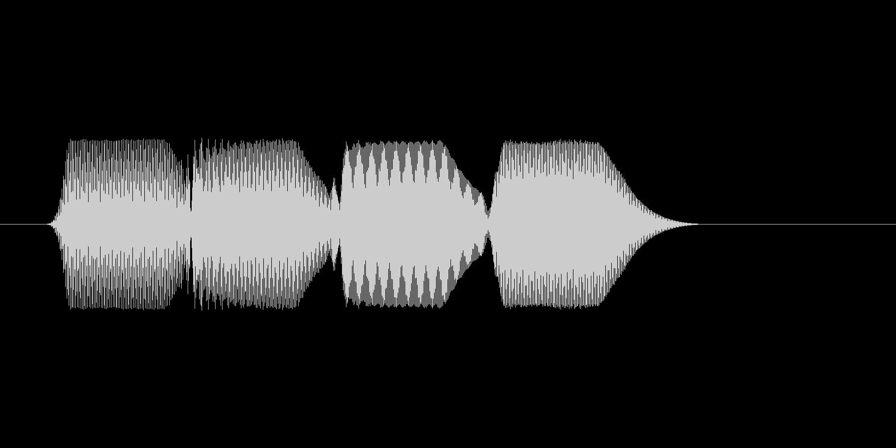 ファミコン風効果音決定音系です 20の未再生の波形
