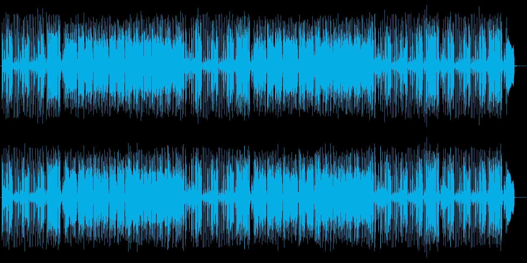 軽快でエキゾチックな音色が特徴のポップスの再生済みの波形