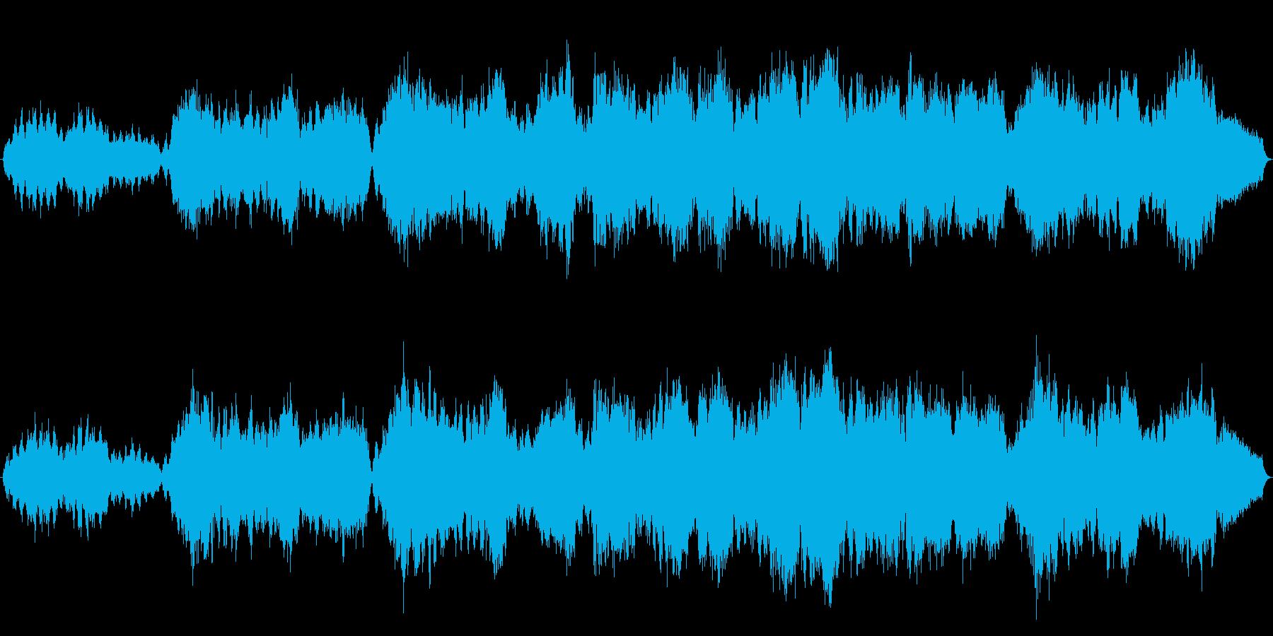 オリジナルバイオリン曲です。短調の切な…の再生済みの波形