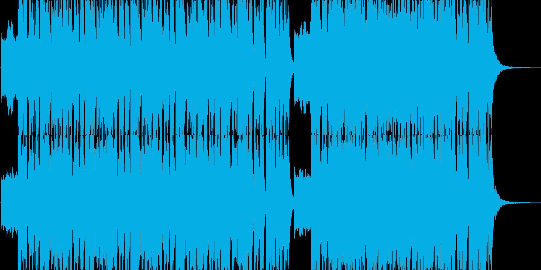 70年代ロック風 シンプルの再生済みの波形