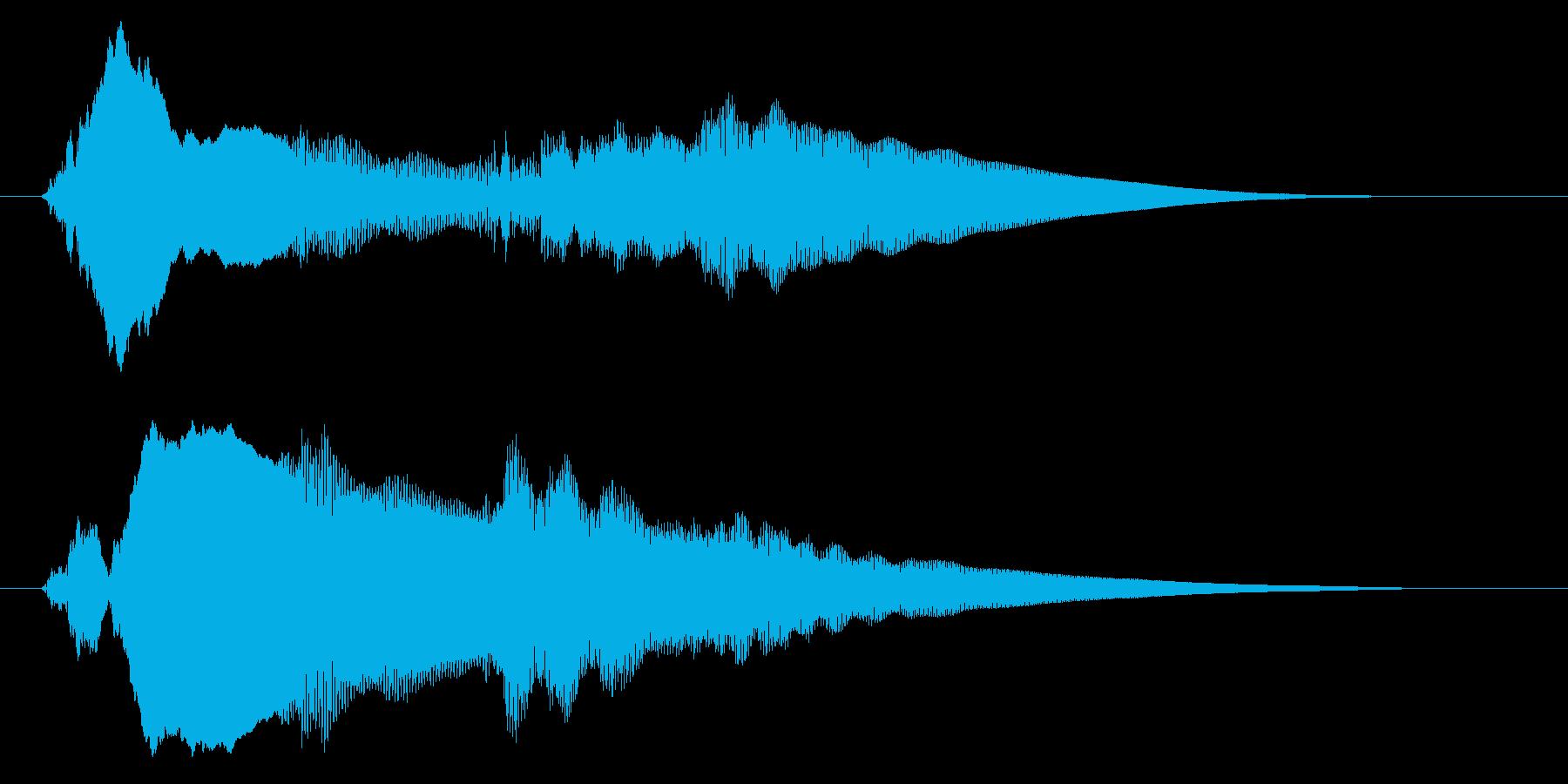 チャイム アナウンス06-5の再生済みの波形