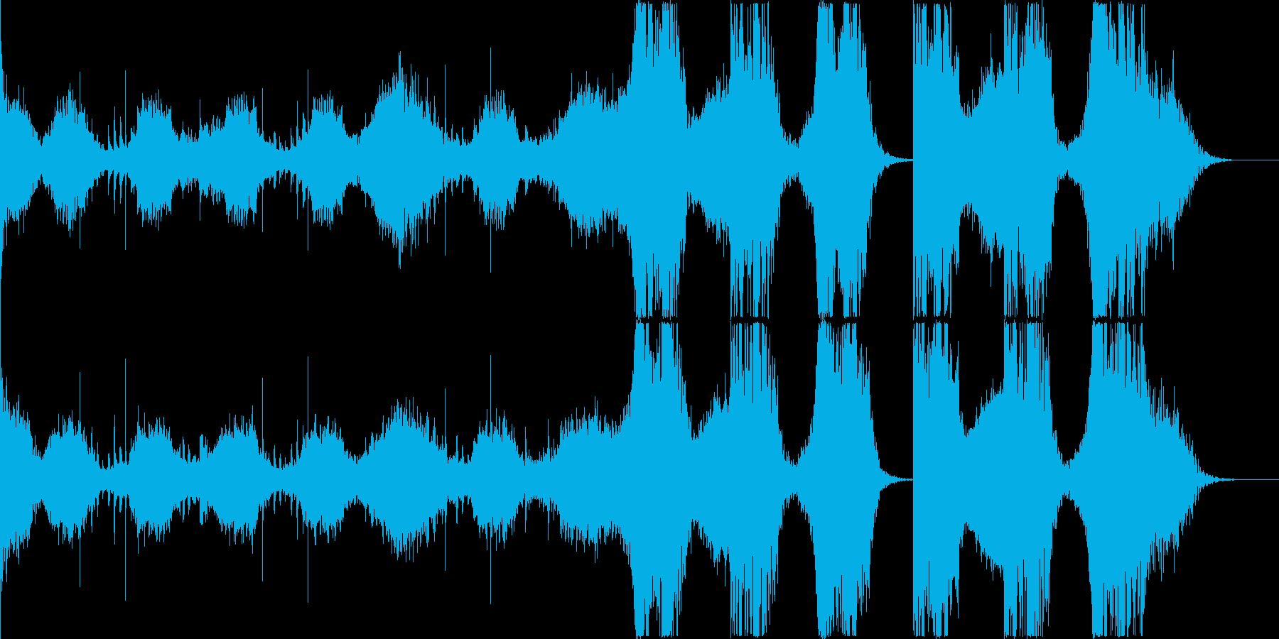 *不気味→逃げる雰囲気 / トレーラー等の再生済みの波形