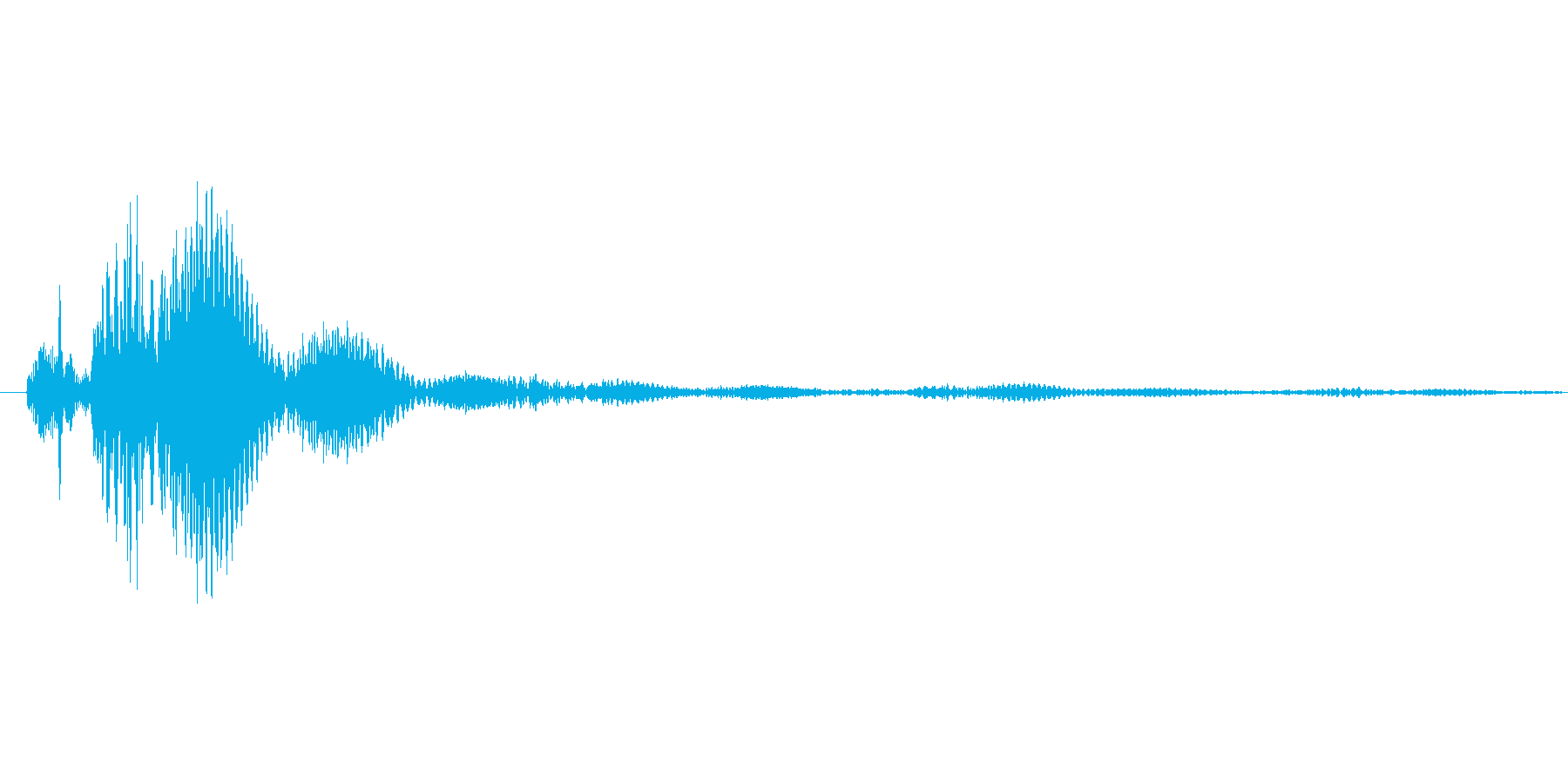 タップ.カーソル移動.クリック.決定09の再生済みの波形