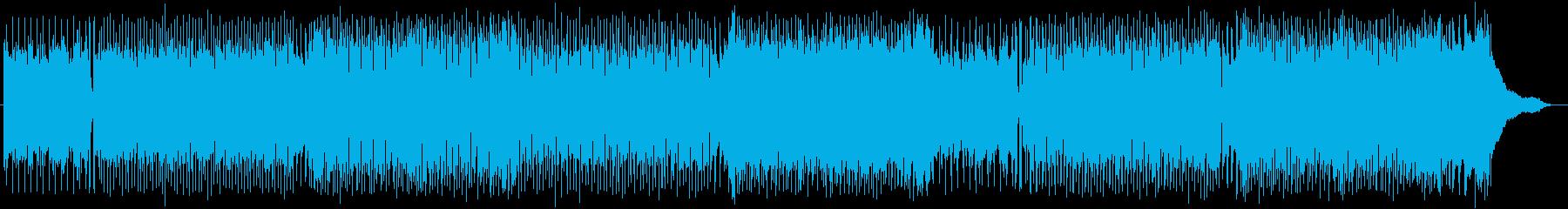 爽やかで流暢なストリングスポップの再生済みの波形