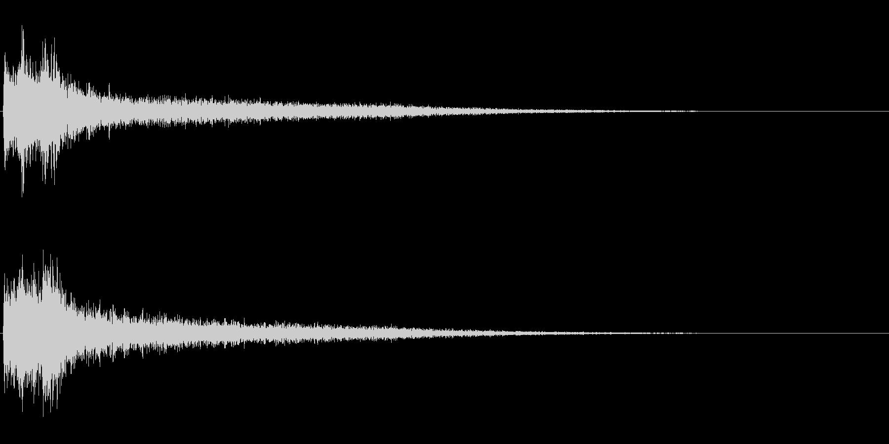 サスペンスに最適!ピアノの弦を弄ぶ音37の未再生の波形