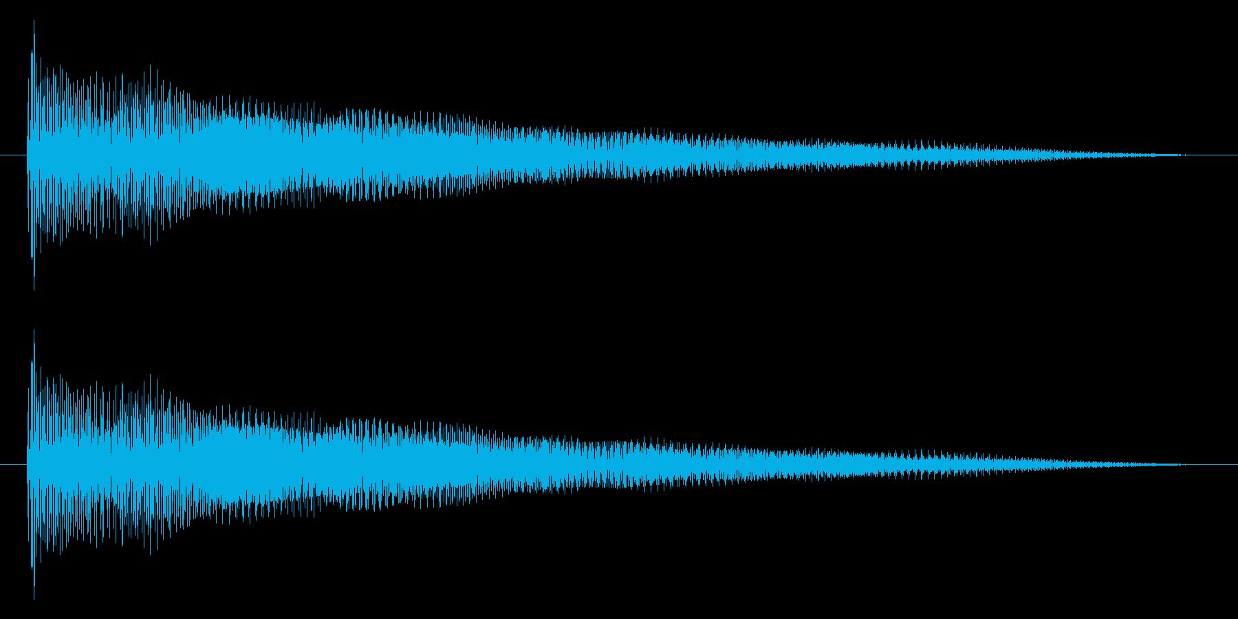プァーン(ギター系)の再生済みの波形
