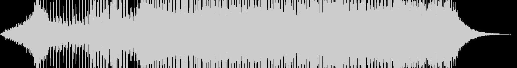 EDM風・90テクノBGM_BGM005の未再生の波形