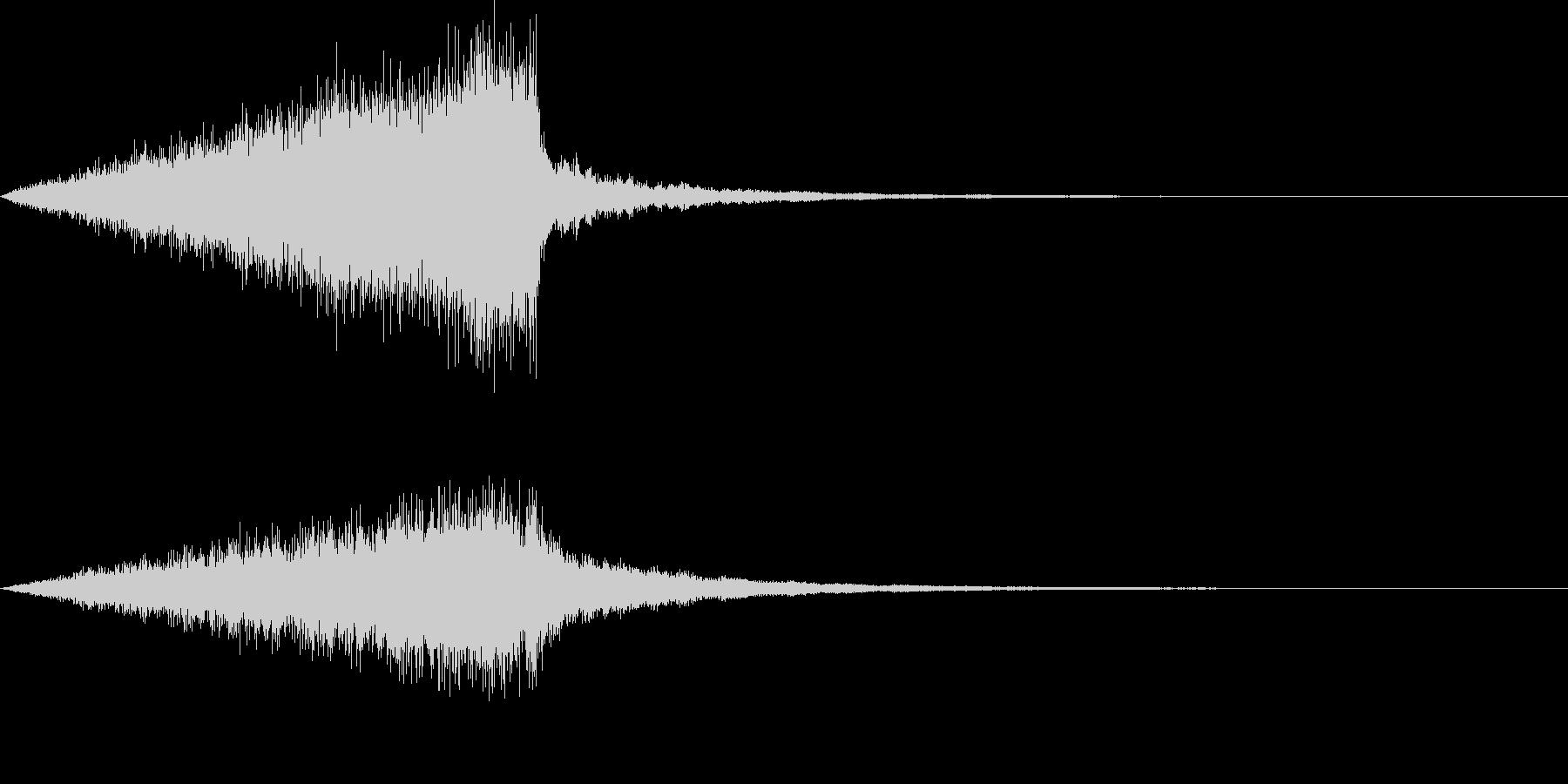 怖い音07の未再生の波形