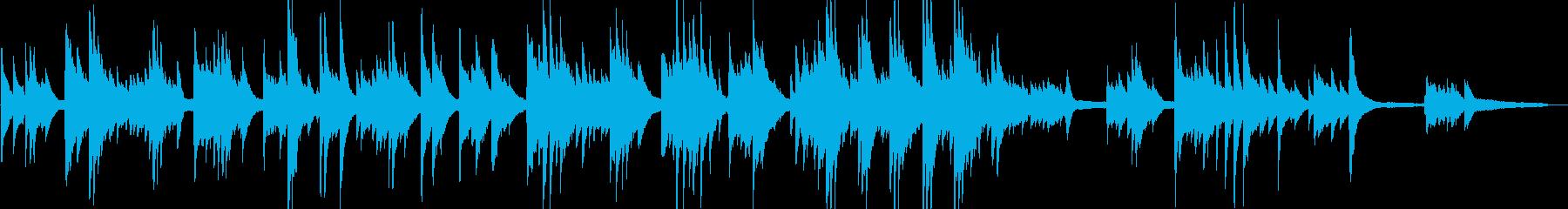 想い出の記念アルバムに最適なピアノ曲の再生済みの波形