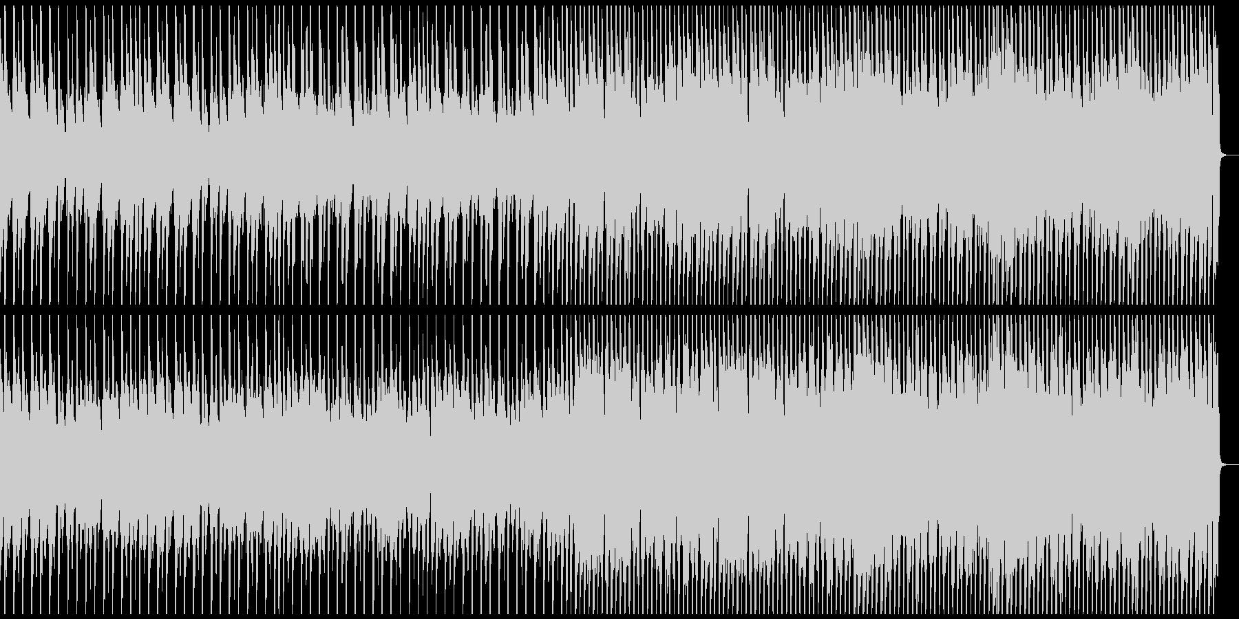 ジングルベル ゆったり南国風に メロ抜きの未再生の波形
