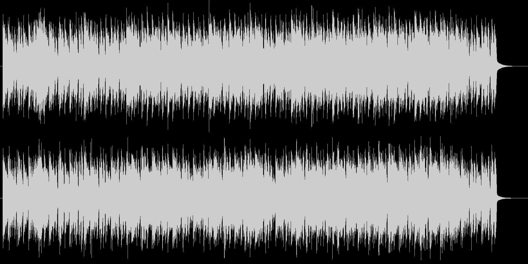 サスペンスの未再生の波形