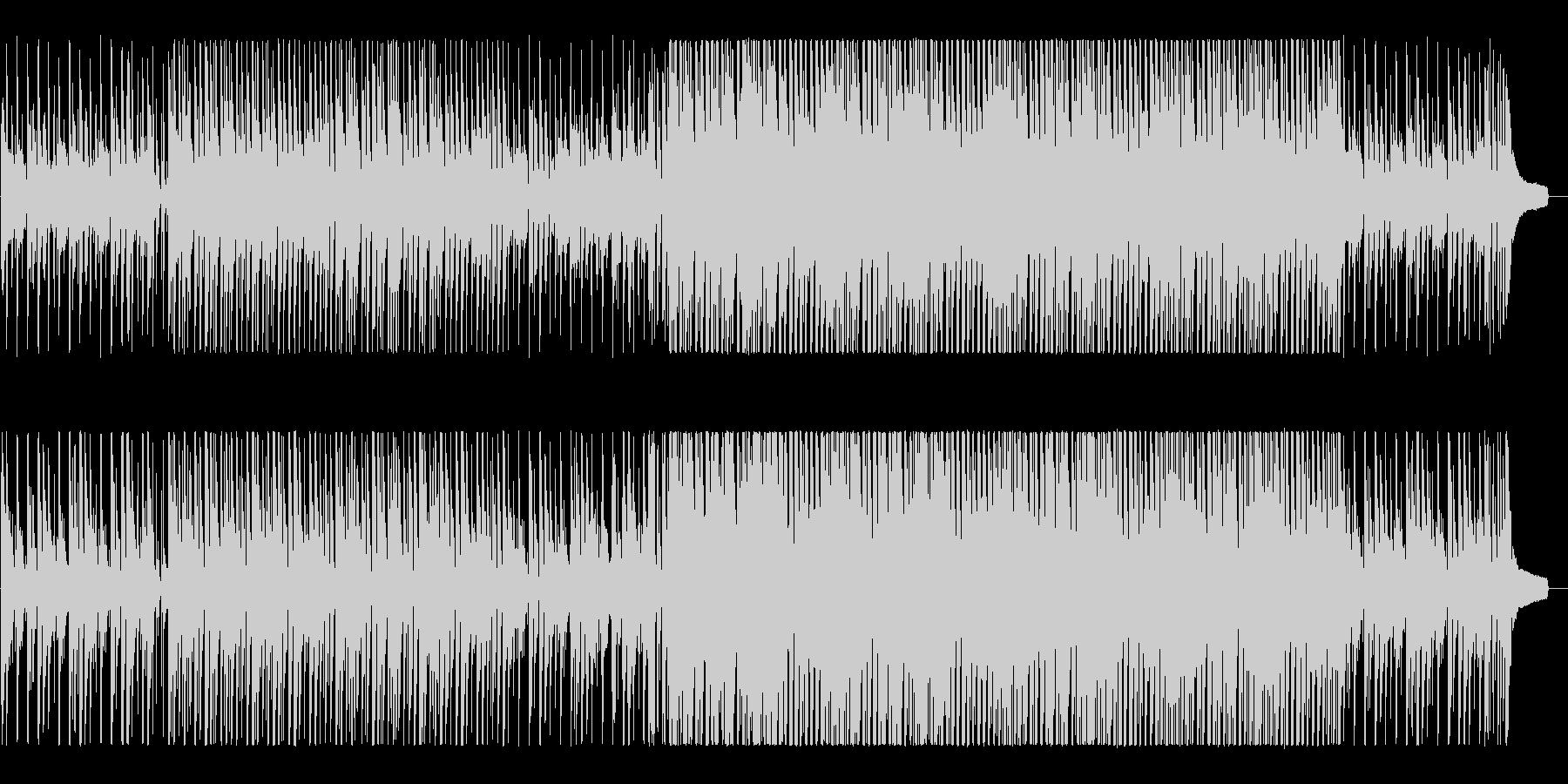 ハッピー&ポップなアコースティックBGMの未再生の波形
