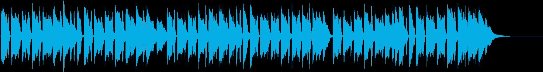 胸がきゅっと苦しくなる生ギターバラード3の再生済みの波形