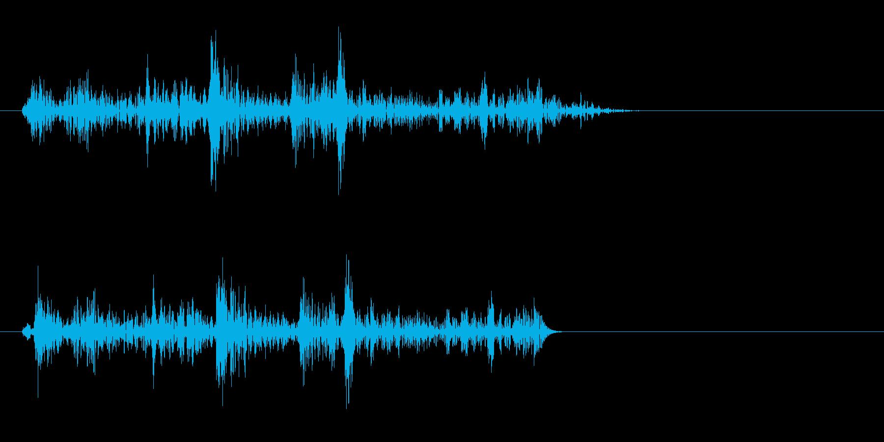 グワワッ(コミカル)の再生済みの波形